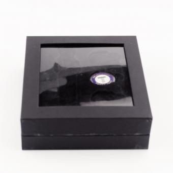 Black Box with Lid and Window