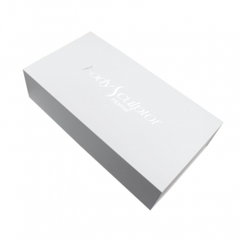 White personalised magnetic gift box