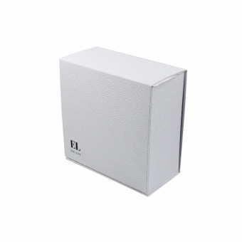 Custom white folding large flat pack cardboard box with lids