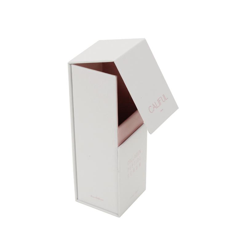 Custom White Standing Small Size Magnetic Box